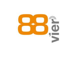 Logo: 88vier
