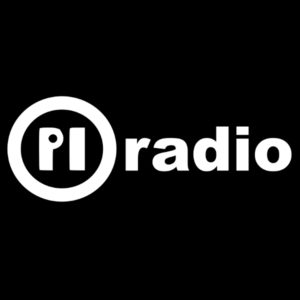 Logo: Pi Radio (Vollversion – Schwarz)